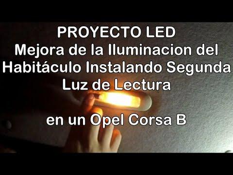 Cómo Instalar Luz de Lectura (Segundo Plafón) en Habitáculo en un Opel Corsa B. Proyecto LED