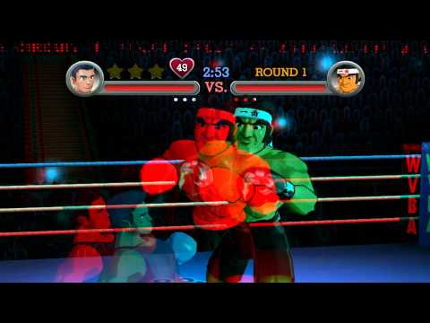 Punch-Out!! in 3D on Dolphin Emulator (1080p)
