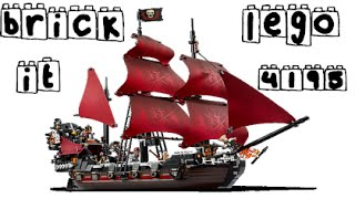 Brick It - Lego Pirates of the Caribbean 4195 Queen Anne's Revenge