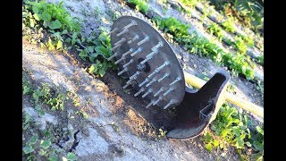 Homemade Rotary CULTIVATOR For TRIMMER !?
