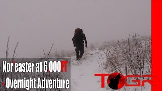 Facing the Storm! - Nor'easter at 6,000FT - Overnight Adventure