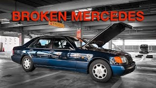 My CHEAP V12 Mercedes is BROKEN (the $12,000 Exhaust is Fine)