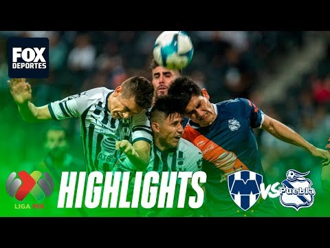 Rayados 0-0 Puebla | HIGHLIGHTS | Jornada 8 | Liga MX