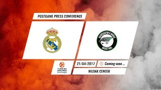 The PostGame Press Conference for the incredible RMBDDI Real Madrid Basket x