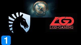 Liquid vs LGD Game 1  The International 2017 Highlights Dota 2