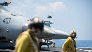 video: Exclusive: Aboard a US aircraft carrier combating Beijing's growing aggression in the South China Sea