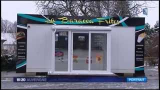 preview picture of video 'La Baracca Frites d'Aurillac'