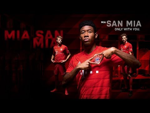 Here is our new FC Bayern Home Shirt!