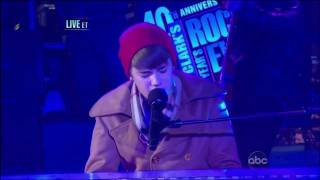 "Justin Bieber ""Let It Be"" Live From Times Square - New Year's Eve 2011 (HD) .mp4"