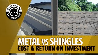 Metal Roof vs Shingles Roof Costs. Is A Metal Roof Worth It? [Price For Metal Roof Vs Asphalt + ROI]