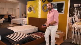 Ein Bett! Warum ein elektrisches Lattenrost helfen kann
