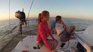 preview picture of video 'Viaje en velero al Riachuelo (Uruguay)'