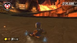 Bowser's Castle - 2:01.157 - HD★Dεmøη♪ (Mario Kart 8 World Record)