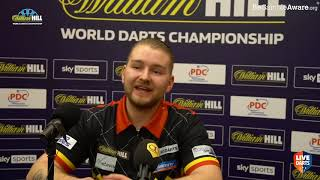 """Dimitri van den Bergh on beating Lim: """"I couldn't give him a chance – I showed what I'm capable of"""""""