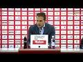 Rueda de prensa de Baraja del Sporting-Granada