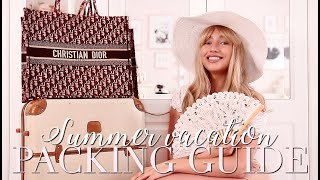 Your ULTIMATE Summer Holiday Packing Guide! ~ Freddy My Love