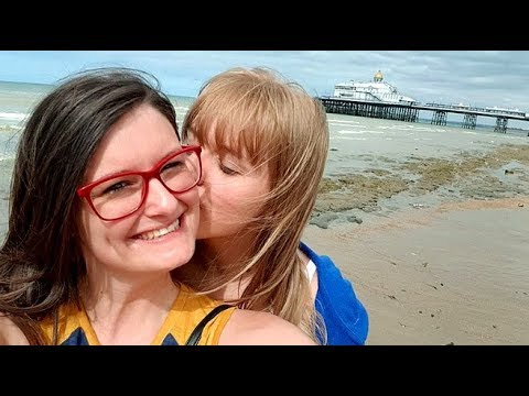 OH WE DO LIKE TO BE BESIDE THE SEASIDE! 🎵 Lesbian Couple Vlog