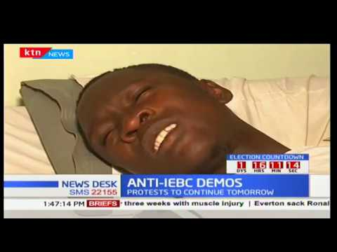 Cases of alledged police brutality costs lives during Anti-IEBC demos