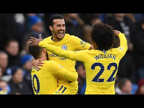 Brighton 1-2 Chelsea | GOALS, PEDRO HAZARD | Charlie's Review!