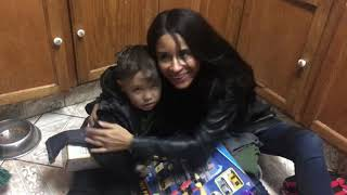 Kimberly Moore pays a surprise visit to little Logan and his family this Christmas!