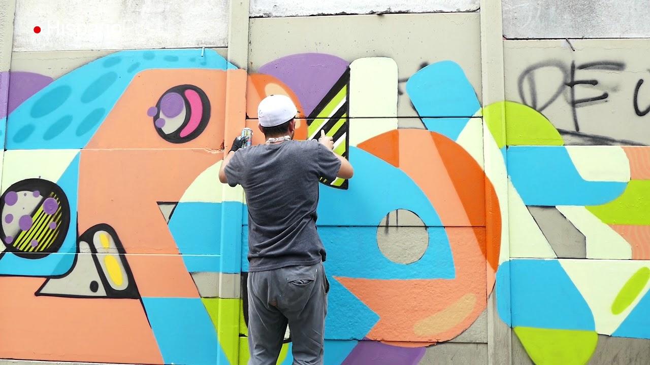 El grafitero que desafió a la muerte pinta las paredes de Latinoamérica