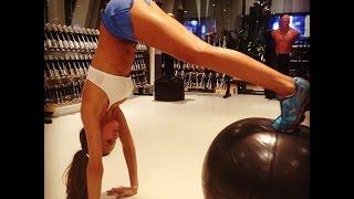 Victorias Secret Model Izabel Goulart Workouts - Part 3