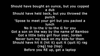 Bombs over Baghdad - Outkast (Lyrics)