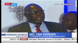 CBA Group and NIC Group hold an investor briefing in their merger