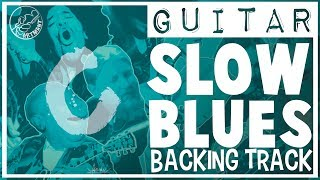 Slow Blues Backing Track in C
