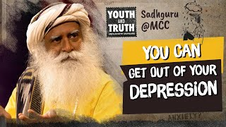 Do People Choose to Be Depressed !! UnplugWithSadhguru