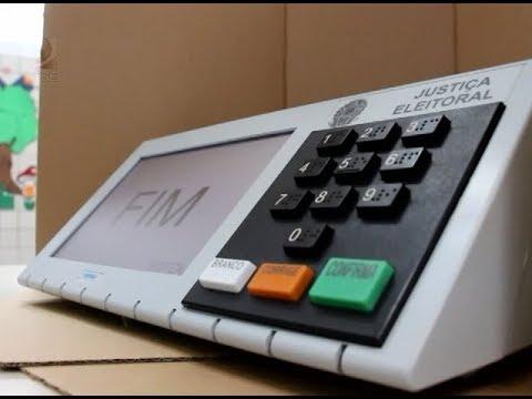 '.TSE disponibiliza simulador de votação na urna eletrônica.'