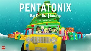 OFFICIAL VIDEO Up On The Housetop  Pentatonix 360 Version
