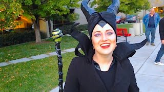 HOME MADE MALEFICENT COSTUME!