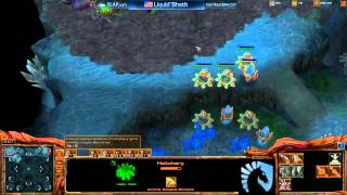 Sheth vs. Barcode Stream Cheater - Starcraft 2 Ladder