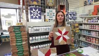 DIY Barn Quilting How-to