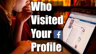 How To Know Who Is Visiting My Facebook Profile  | Facebook Profile Viewers