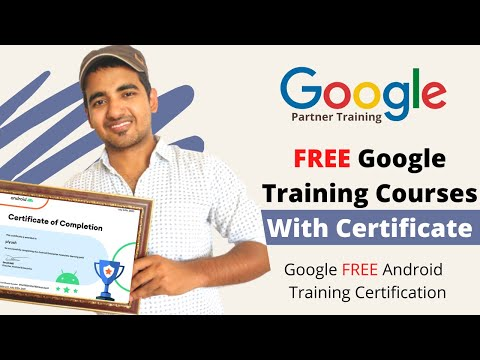 FREE GOOGLE Training Certificate Courses | Google Android ...