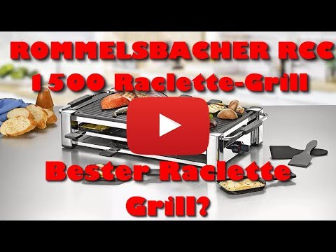 ROMMELSBACHER RCC 1500 Raclette Grill Review - Bester Raclette Grill?