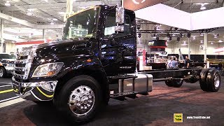 Hino 338 2019 Truck - Exterior And Interior Walkaround - 2018 Truckworld Toronto
