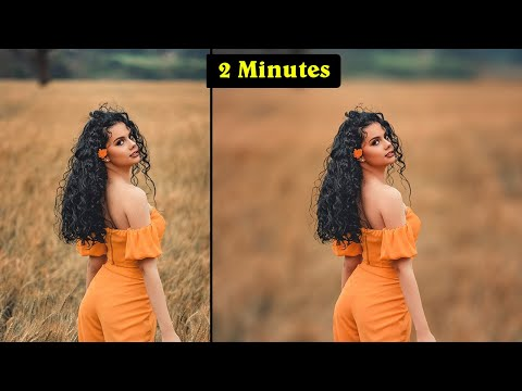 How To Blur Photo Background in Photoshop 2020 - How To Blur Photo Background - Photoshop Tutorial