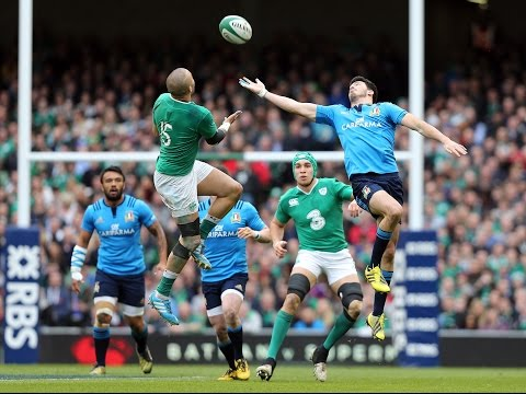 Official Extended Highlights (Worldwide) – Ireland 58-15 Italy | RBS 6 Nations