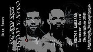 The MMA Vivisection - UFC Pittsburgh: Rockhold vs. Branch picks, odds, & analysis