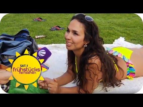 BRÄUNUNGPILLEN: Wie wird man schnell knackig braun? | SAT.1 Frühstücksfernsehen | TV