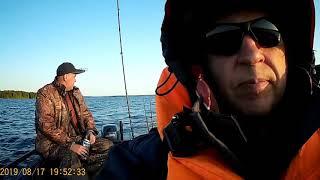 Правила ловли троллингом на онежском озере