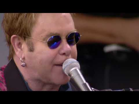 Elton John - The Bitch Is Back (Live 8 2005)