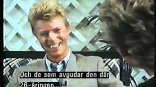 Sweden 1983 - Nöjesmaskinen (Interview, Let\\\'s Dance)