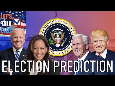 2020 Electoral Map | Biden/Harris vs Trump/Pence