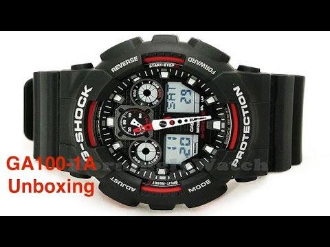 03462084dd2 relógio cásio g-shock ga-100 preto tático novo original. Carregando zoom.