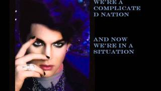Adam Lambert- Strut LYRICS