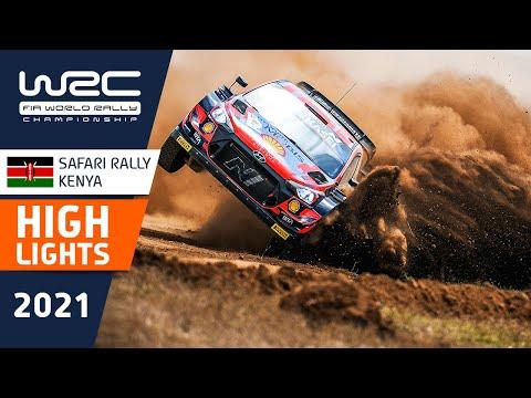 WRC 2021 WRC第6戦ラリー・ケニア のハイライト動画
